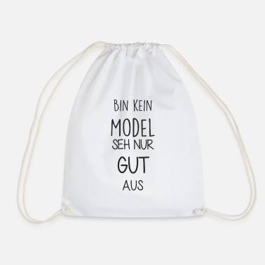 Bin kein Model - Turnbeutel