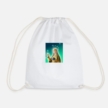 Marie Love Mary messenger of Love - Drawstring Bag