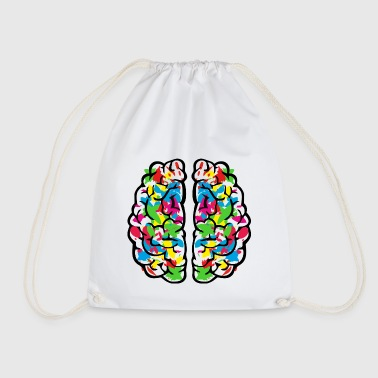 Creative colourful brain - Gymbag