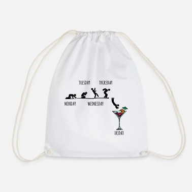 Suff Party partying - Drawstring Bag