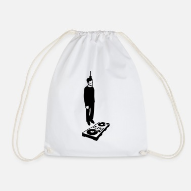 Laugh hang the DJ - Drawstring Bag