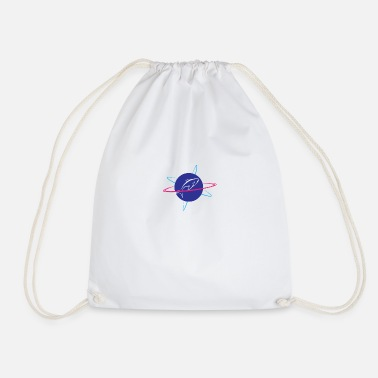Nasa shark nasa - Drawstring Bag