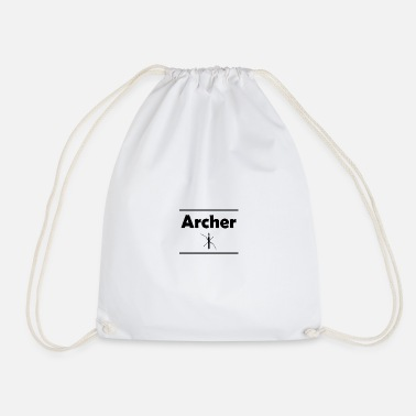 Archer Archer - Drawstring Bag