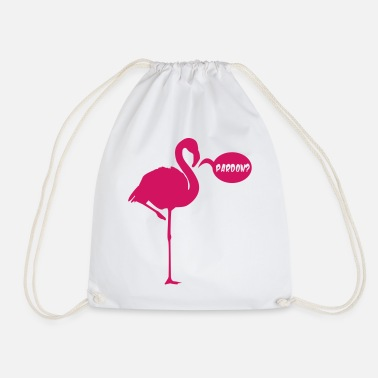 Pardon FLAMINGO PARDON - Drawstring Bag