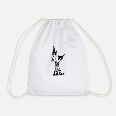 Two the two - Drawstring Bag