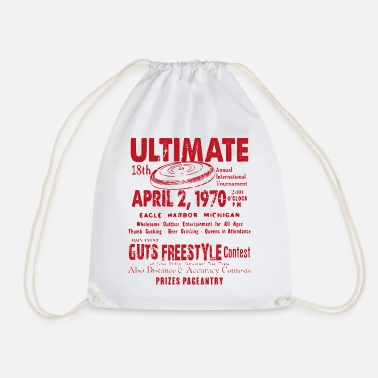 Freestyle ULTIMATE CONTEST TEE SHIRT - Drawstring Bag