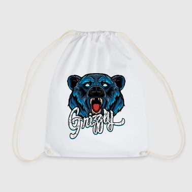 Grizzly - Drawstring Bag