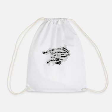 District Heidelberg district and districts Black Edition - Drawstring Bag