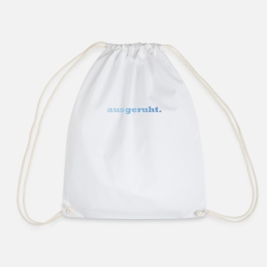 Rest rested. - Drawstring Bag