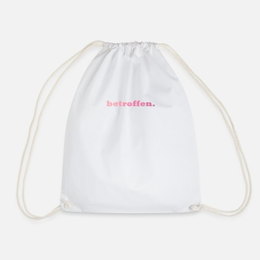 Affection affected. - Drawstring Bag