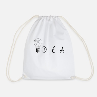 Idea Idea - idea - Drawstring Bag