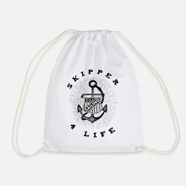 Skipper skipper - Drawstring Bag