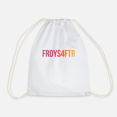 Fridays For Future FRDYS4FTR - Fridays For Future - Cool Statement - Drawstring Bag