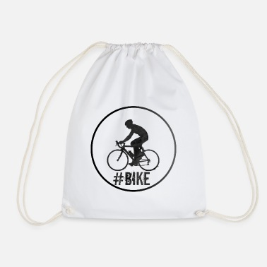 Bike Bike Bike Cycling Race Gift - Drawstring Bag