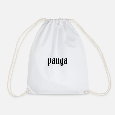 panga clothing logo - Drawstring Bag