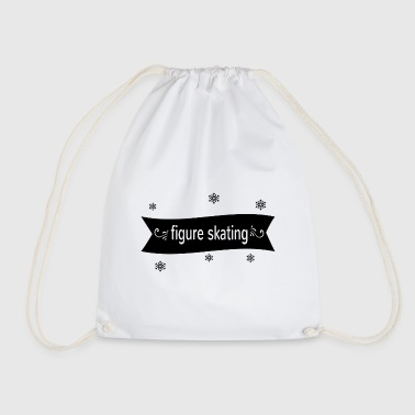 Figure Skating figure skating - Drawstring Bag