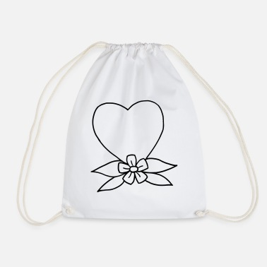 Tradition Heart traditional - Drawstring Bag