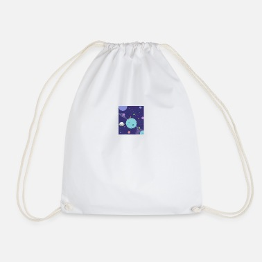 luna fishing - Drawstring Bag