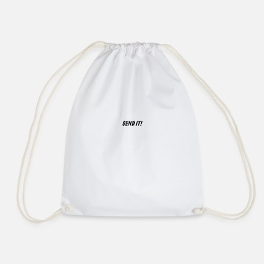 Send Send It - Drawstring Bag