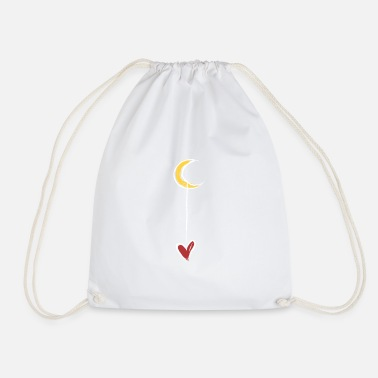 Cuore LUNA CUORE RETRO - Drawstring Bag
