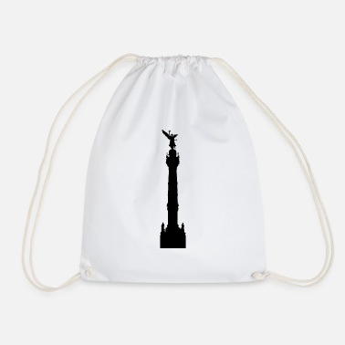 Ángel Angel of Independence - Mexico - Drawstring Bag