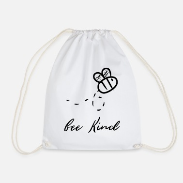 Bee Bee bees bee kill bee bee bee - Drawstring Bag