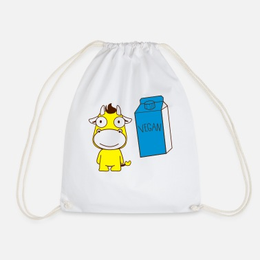 Vegan T Shirt - Drawstring Bag