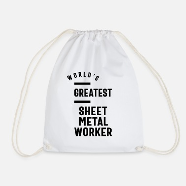 Sheet Metal Worker Sheet Metal Worker Job Title Gift - Drawstring Bag