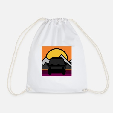 Birthday Present Road trip - Drawstring Bag