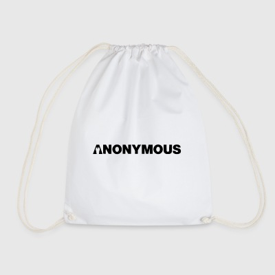 Anonymous - We are legion - Expect us - Shirt - Drawstring Bag