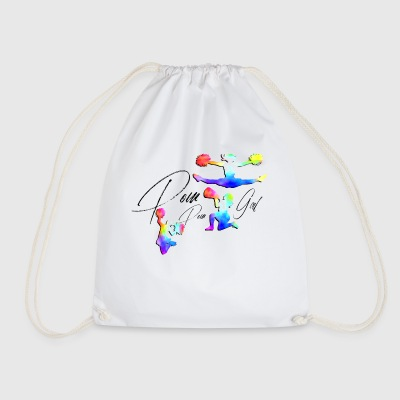 CHEERLEADER - Drawstring Bag