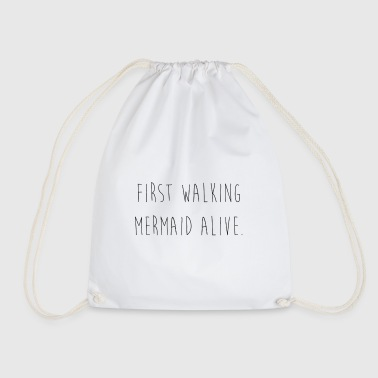 Mermaid - Drawstring Bag