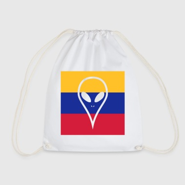 Ecuador country in South America Alien - Drawstring Bag