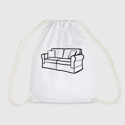 couch - Drawstring Bag