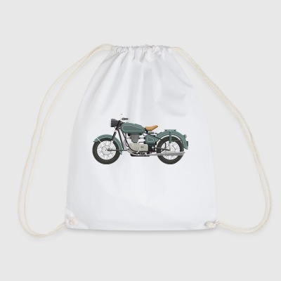 motorcycle - Drawstring Bag