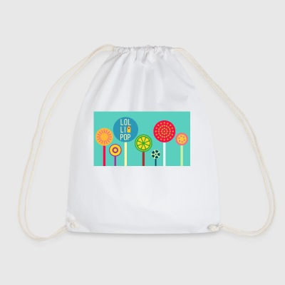 lollipop - Drawstring Bag