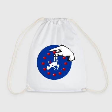 Brexit cherry picking raisin pecking - Drawstring Bag