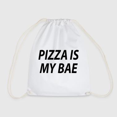Pizza is my bae - Drawstring Bag