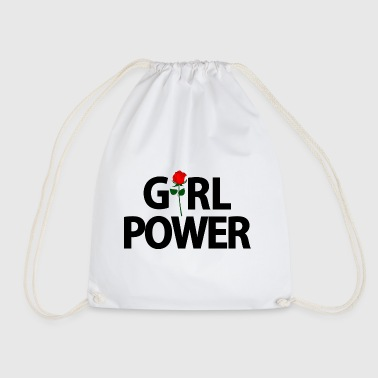 girls power - Drawstring Bag