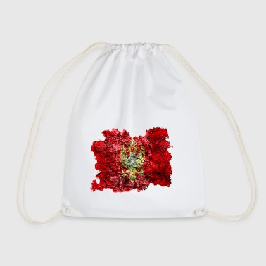 Montenegro vintage flag - Drawstring Bag