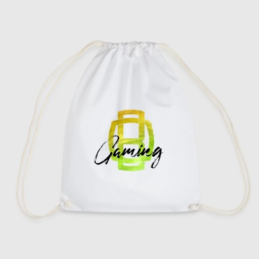 OB Gaming / Black lettering - Drawstring Bag