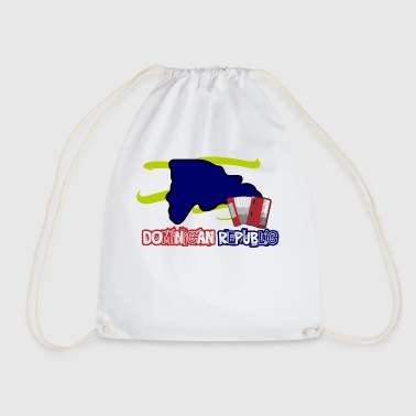 Dominican Republic Music - Drawstring Bag