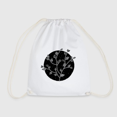 Leaves in the starry sky - Drawstring Bag