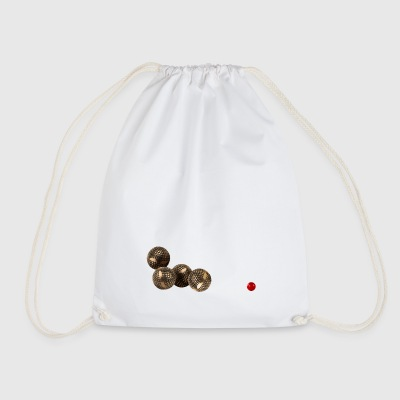 Pétanque balls to celebrate the summer - Drawstring Bag