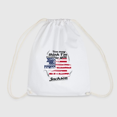 THERAPY HOLIDAY AMERICA USA TRAVEL Jackson - Drawstring Bag