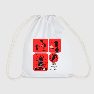 Christmas singing - Drawstring Bag