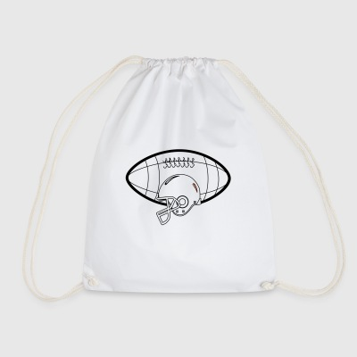 American Football - Drawstring Bag
