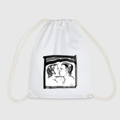 kiss - Drawstring Bag