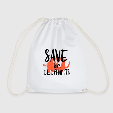 Save the Elephants - Sac de sport léger