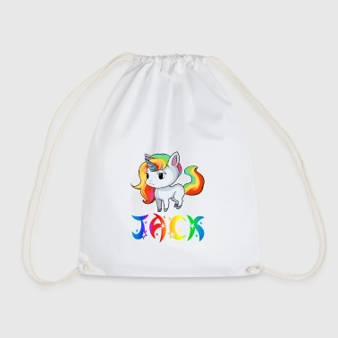 Jack unicorn - Drawstring Bag